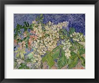 Framed Blossoming Chestnut Branches, 1890
