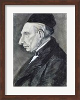 Framed Portrait of the Artist's Grandfather, 1881