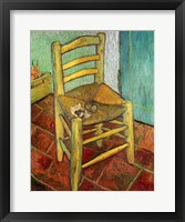 Framed Vincent's Chair, 1888