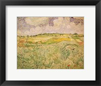 Framed Plain at Auvers, 1890