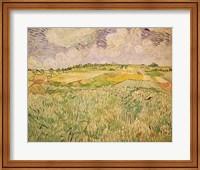 Framed Plain at Auvers, 1890