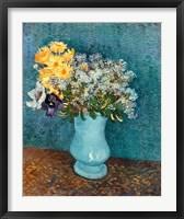 Framed Vase of Flowers, 1887