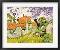 Framed Street in Auvers-sur-Oise, 1890