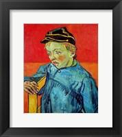 Framed Schoolboy