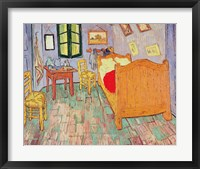 Framed Van Gogh's Bedroom at Arles, 1889
