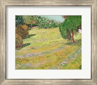 Framed Field in Sunlight, 1888