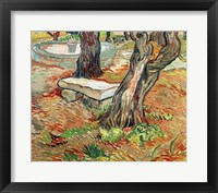 Framed Bench at Saint-Remy, 1889