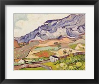 Framed Alpilles, 1890