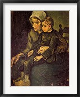 Framed Mother and Child, 1885