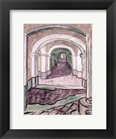 Framed Arched Hallway