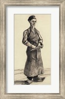 Framed Blacksmith's Boy, 1882