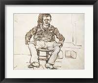 Framed Zouave, seated, 1888