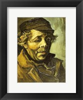 Framed Head of a Peasant