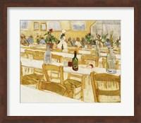 Framed Restaurant Interior, 1887-88