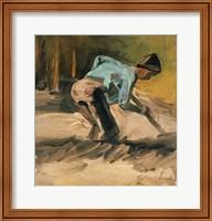 Framed Man at Work, c.1883