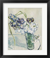 Framed Still Life, Vase of Carnations, June 1890