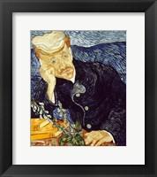 Framed Portrait of Dr. Gachet