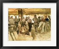 Framed Potato Market, 1882