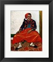 Framed Zouave, 1888