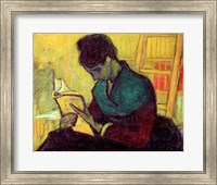 Framed Novel Reader, 1888