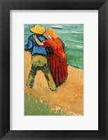 Framed Pair of Lovers, Arles, 1888