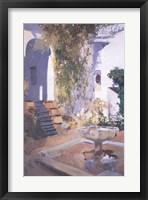 Framed Garden Grotto, Alcazar de Seville