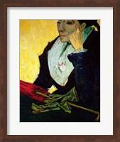 Framed L'Arlesienne (detail)