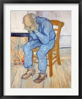 Framed Old Man in Sorrow