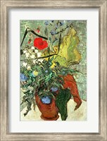 Framed Bouquet of Wild Flowers
