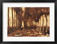 Framed Figure on a Road, 1884