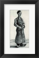 Framed Young Blacksmith, 1882
