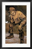 Framed Old man with a pipe, 1883