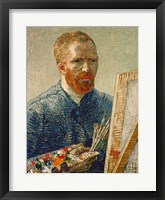 Framed Self Portrait as an Artist, 1888