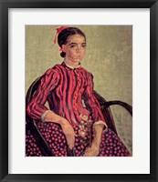 Framed La Mousme, 1888