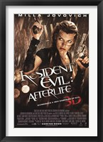 Framed Resident Evil - Afterlife