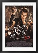 Framed Resident Evil - Afterlife