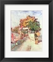 Framed French Street Scene