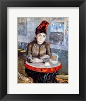 Framed Woman in the 'Cafe Tambourin', 1887