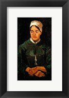 Framed Peasant woman from Nuenen, 1885