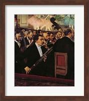 Framed Opera Orchestra, c.1870