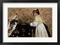 Framed Portrait of Hortense Valpincon as a Child, 1869