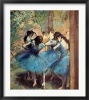 Framed Dancers in Blue, 1890