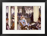Framed Women on a Cafe Terrace, 1877