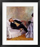 Framed Monsieur and Madame Edouard Manet