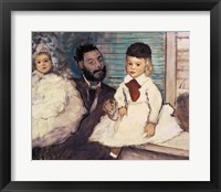 Framed Comte Le Pic and his Sons