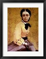 Framed Portrait of Princess Pauline de Metternich, c.1865