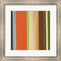 Framed Hampton Stripe I