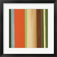 Hampton Stripe I Framed Print