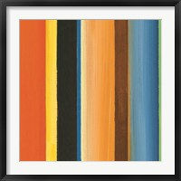 Framed Hampton Stripe II