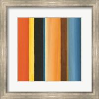 Framed Hampton Stripe II